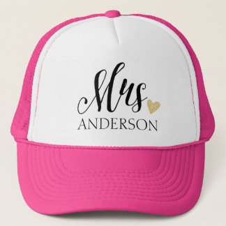 Mrs. Personalized Trucker Hat