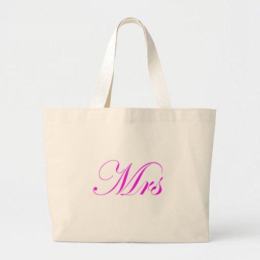 Mrs-Pink Bag