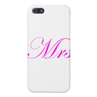 Mrs-Pink iPhone 5 Covers