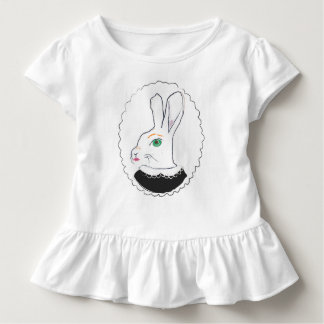 Mrs. Rabbit ruffled t-shirt