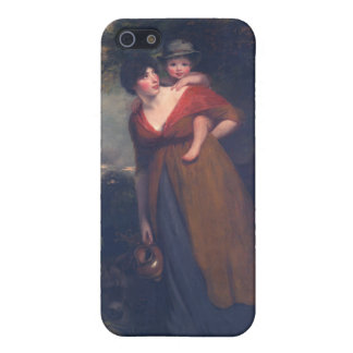 Mrs Richard Brinsley Sheridan and Her Son, Hoppner iPhone 5 Cover