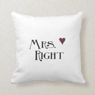 Mrs. Right Cushion