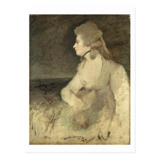 Mrs Robinson, c.1784 (oil on canvas) Postcard