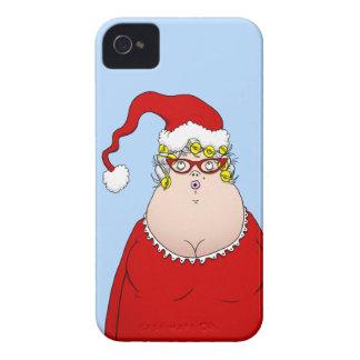 Mrs Santa Claus iPhone 4 Case