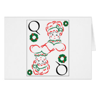 Mrs Santa - Queen of Wreaths Cards
