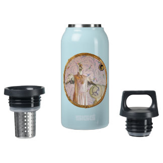 Mrs. Smew's Portrait Insulated Water Bottle