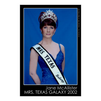 Mrs. Texas Galaxy 2002 Poster