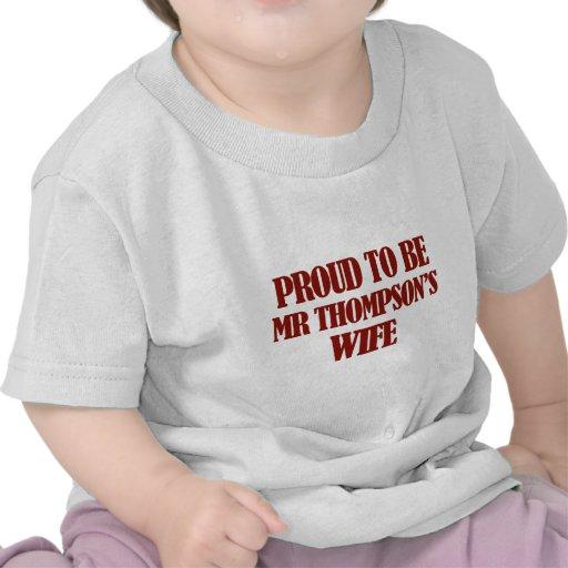 Mrs thompson designs t shirts