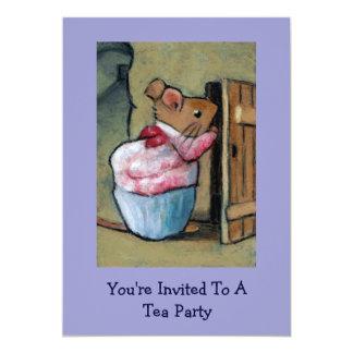 Mrs. Tittlemouse (Beatrix Potter) Tea Party Invite
