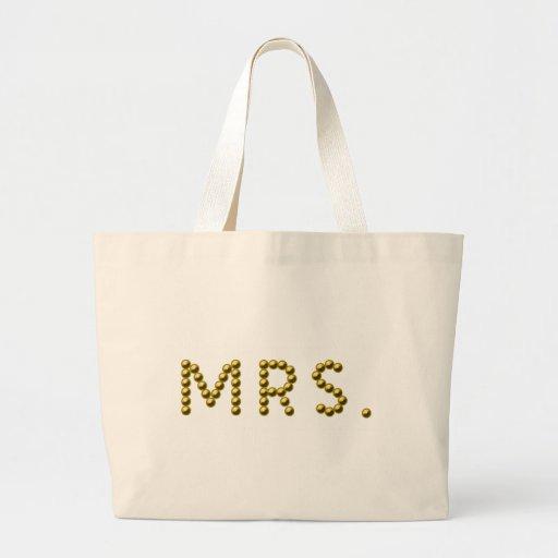 Mrs Tote Bag