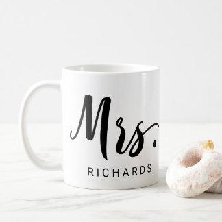 MRS. Typography Coffee Mug