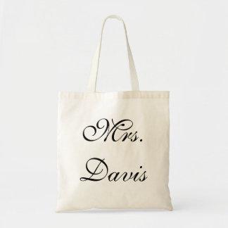 Mrs Wedding Bag or Tote
