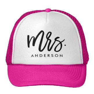 Mrs. Wedding Cap