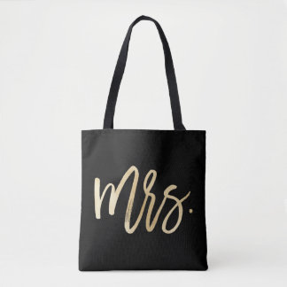 Mrs. Wedding Tote Bag