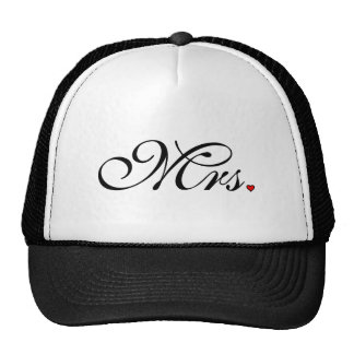 Mrs. Wife Bride His Her Newly Weds Cap