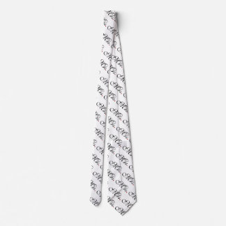 Mrs. Wife Bride His Her Newly Weds Tie