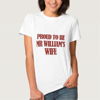 Mrs williams designs tshirts