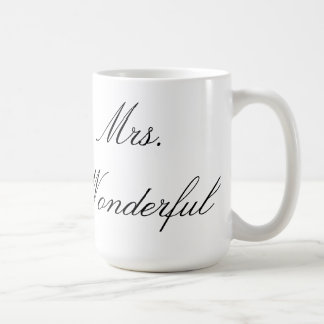 Mrs. Wonderful Mug