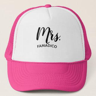 Mrs. ( Your Last Name ) Wedding Trucker Hat