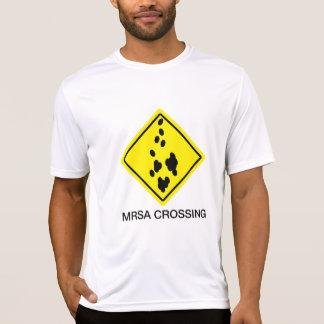 MRSA Crossing Sign T-Shirt