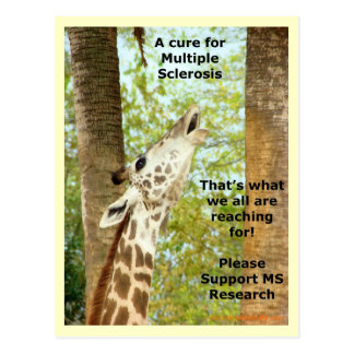 MS Awareness Postcard