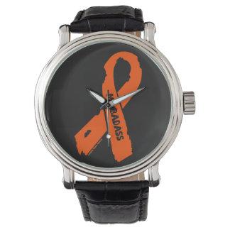 MS BADASS/ torn ribbon Watch