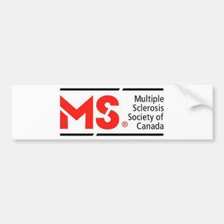 MS Canada Bumper Sticker