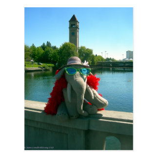 Ms Ella at the park Postcard