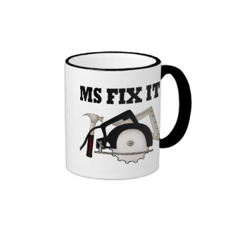 Ms Fix It Ringer Mug
