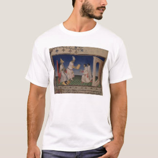 Ms Fr 2810 f.3v Kublai Khan (1214-94) giving his g T-Shirt