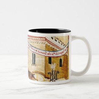 Ms H. V-5 Taxing the merchants Coffee Mugs
