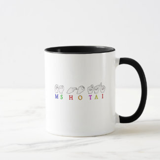 MS HO TAI CUSTOM REQUEST FINGERSPELLED NAME MUG