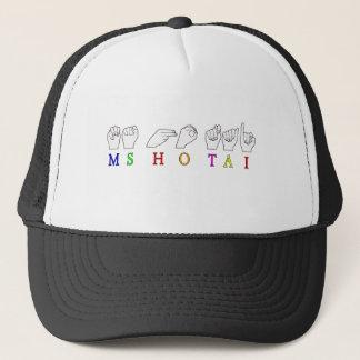 MS HO TAI CUSTOM REQUEST FINGERSPELLED NAME TRUCKER HAT