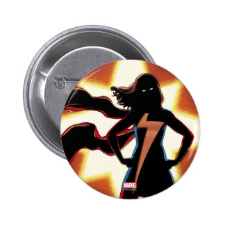Ms. Marvel Comic #2 6 Cm Round Badge