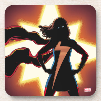 Ms. Marvel Comic #2 Beverage Coaster
