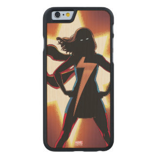 Ms. Marvel Comic #2 Carved Maple iPhone 6 Case