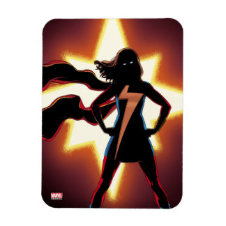 Ms. Marvel Comic #2 Rectangular Photo Magnet