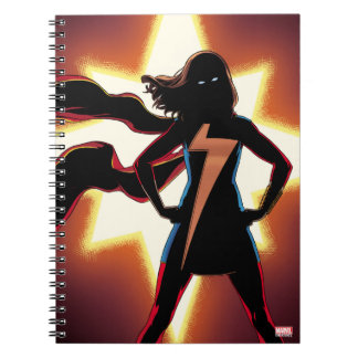 Ms. Marvel Comic #2 Spiral Notebook