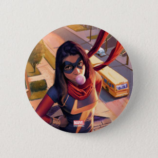 Ms. Marvel Comic #2 Variant 6 Cm Round Badge