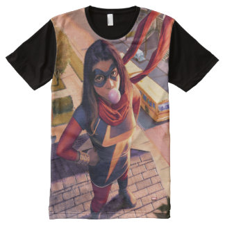 Ms. Marvel Comic #2 Variant All-Over Print T-Shirt