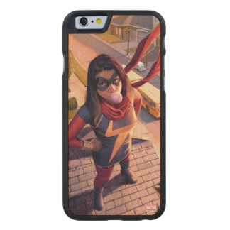 Ms. Marvel Comic #2 Variant Carved Maple iPhone 6 Case