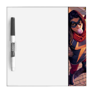 Ms. Marvel Comic #2 Variant Dry Erase Board