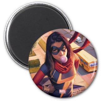 Ms. Marvel Comic #2 Variant Magnet