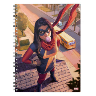 Ms. Marvel Comic #2 Variant Notebook