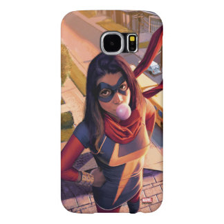 Ms. Marvel Comic #2 Variant Samsung Galaxy S6 Cases