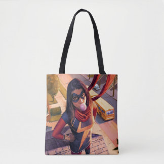 Ms. Marvel Comic #2 Variant Tote Bag
