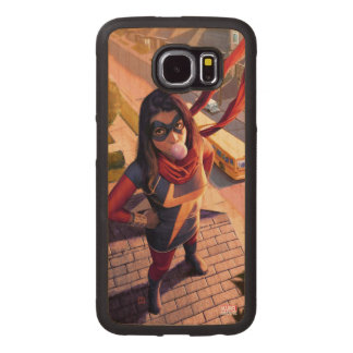 Ms. Marvel Comic #2 Variant Wood Phone Case