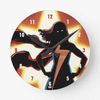 Ms. Marvel Comic #2 Wall Clock