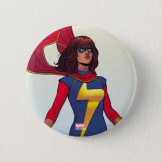 Ms. Marvel Comic #3 6 Cm Round Badge