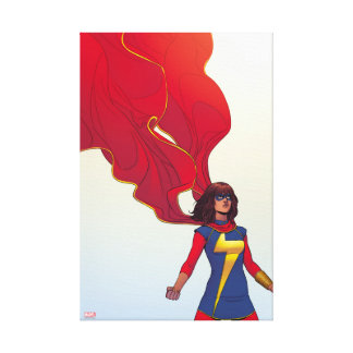 Ms. Marvel Comic #3 Canvas Print